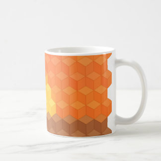 Axonometric Sunset Coffee Mug