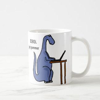 AY- COBOL Programmer Dinosaur Mug