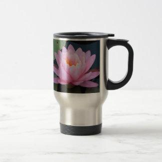 AY- Pink Water Lily Travel Mug