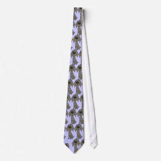 AY- Weimaraner Cartoon Necktie