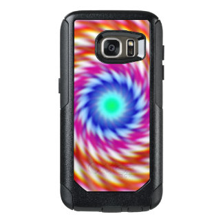 """""""Ayahuascan Animus"""" Original Psychedelic Fractal OtterBox Samsung Galaxy S7 Case"""