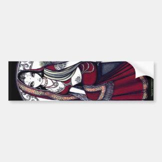 Ayanna Hindi Bindi Sari Fairy Bumper Sticker