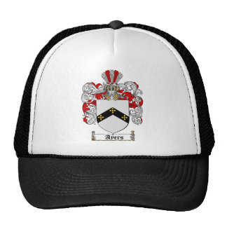 AYERS FAMILY CREST -  AYERS COAT OF ARMS CAP
