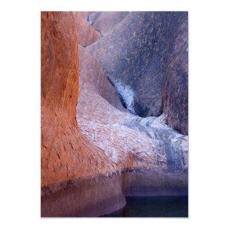Ayers Rock, Uluru National Park, Australia Desert Card