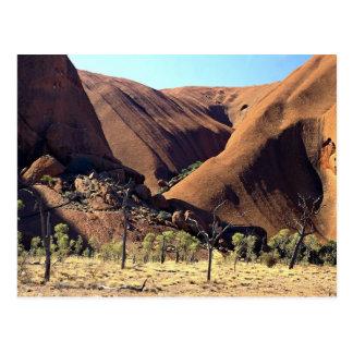 Ayers Rock, Uluru National Park, Northern Territor Postcard