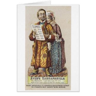 Ayers Sarsaparilla Greeting Card