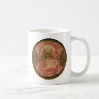 Ayers Three-Cent Enclosed Postage Basic White Mug