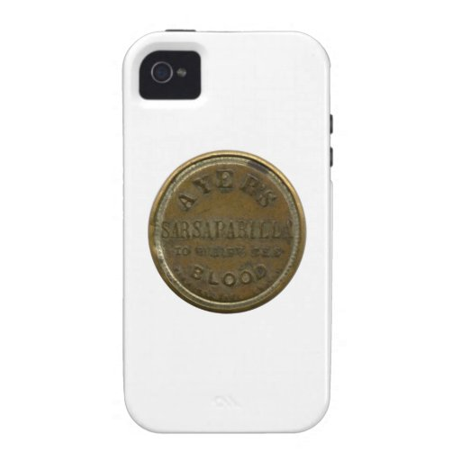 Ayers Three-Cent Enclosed Postage iPhone 4/4S Cover