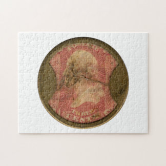 Ayers Three-Cent Enclosed Postage Jigsaw Puzzles