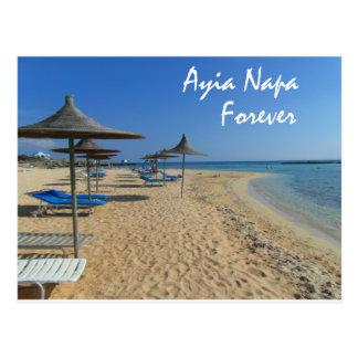 Ayia Napa Forever Postcard