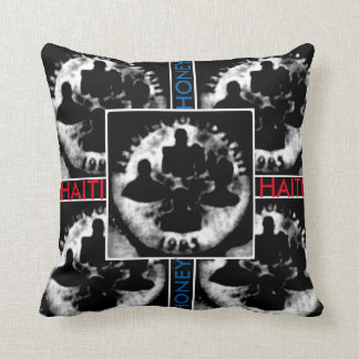 AYITI CHERI HAITI HONEY MandyMonumental DESIGN Throw Pillow