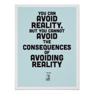 Ayn Rand Inspirational Quote - Philosophy Poster