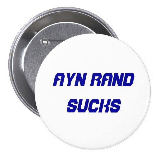Ayn Rand Sucks Button
