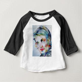 ayn rand - watercolor portrait baby T-Shirt