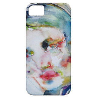 ayn rand - watercolor portrait iPhone 5 cover