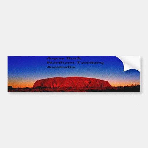 Ayres Rock Australia Bumper Sticker