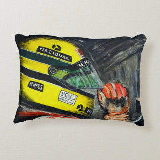 AYRTON - Artwork by Jean Louis Glineur Decorative Cushion