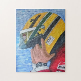 AYRTON - Artwork by Jean Louis Glineur Puzzle