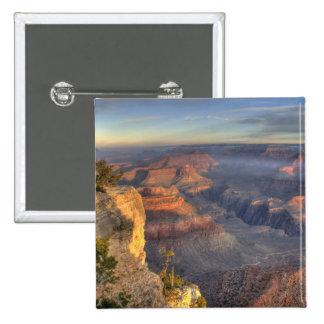 AZ, Arizona, Grand Canyon National Park, South 2 15 Cm Square Badge