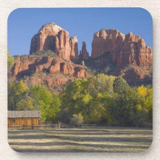 AZ, Arizona, Sedona, Crescent Moon Recreation 2 Beverage Coasters