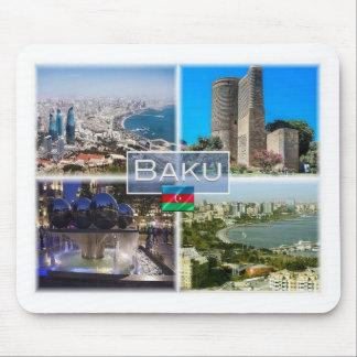 AZ Azerbaijan - Baku - Maiden Tower - Mouse Pad