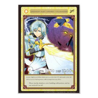 AZ card - Emergent Glint 9 Cm X 13 Cm Invitation Card