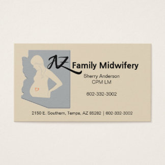 AZ Family Midwifery Business Card