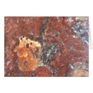 AZ Petrified Wood Card