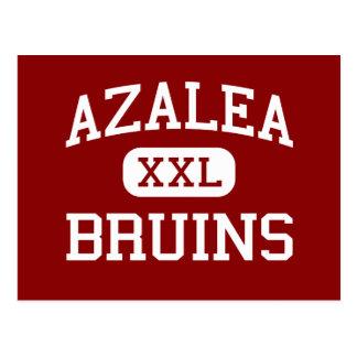 Azalea - Bruins - Middle School - Brookings Oregon Postcard