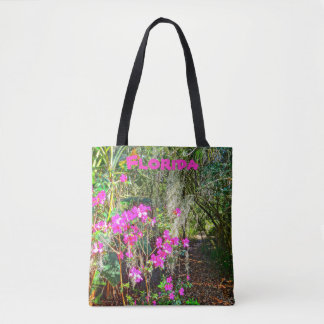 Azalea Path Bok Tower Gardens Lake Wales Florida Tote Bag