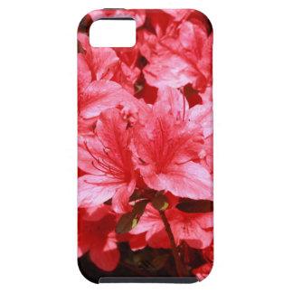 azalea red flowers iPhone 5 case