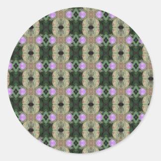 Azaleas Design Pattern Stickers