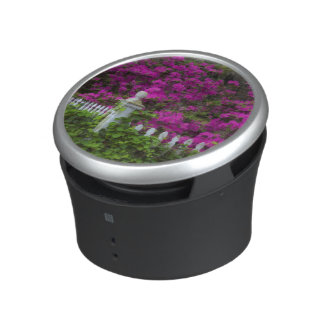 Azaleas in the spring at Historic Isle of Hope Bluetooth Speaker