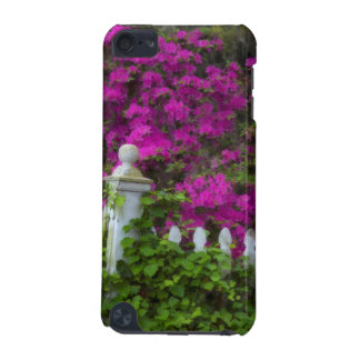 Azaleas in the spring at Historic Isle of Hope iPod Touch (5th Generation) Covers