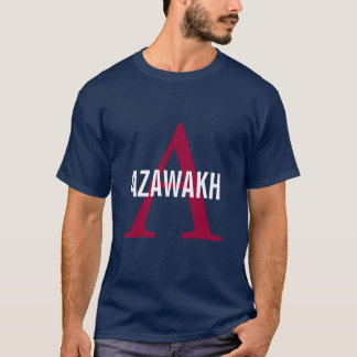 Azawakh Breed Monogram T-Shirt