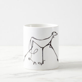 Azawakh Mug Design by David Moore
