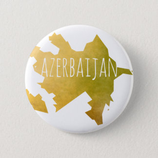 Azerbaijan 6 Cm Round Badge