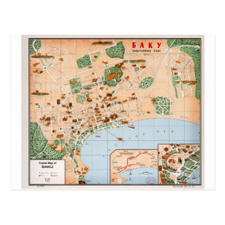 Azerbaijan Baku Postcard