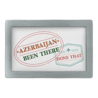 Azerbaijan Been There Done That Belt Buckle