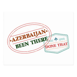 Azerbaijan Been There Done That Postcard