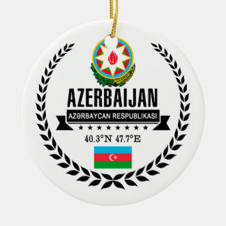 Azerbaijan Ceramic Ornament