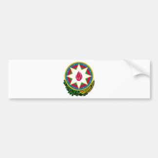 Azerbaijan Coat of Arms Bumper Sticker