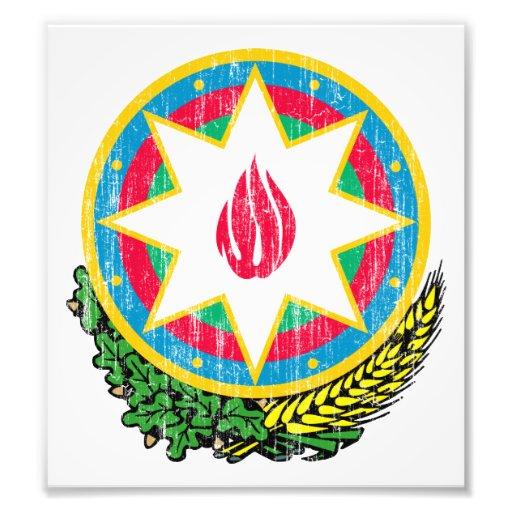 Azerbaijan Coat Of Arms Photo Art