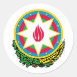 Azerbaijan Coat Of Arms Sticker