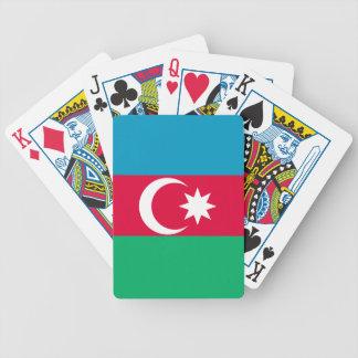 Azerbaijan Flag Bicycle Playing Cards