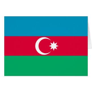 Azerbaijan Flag Greeting Cards