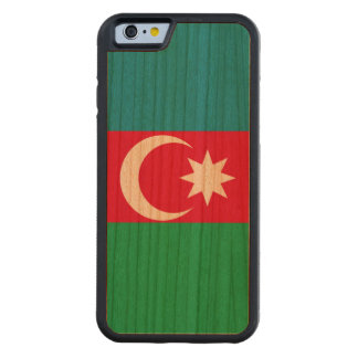 Azerbaijan Flag Carved Cherry iPhone 6 Bumper Case