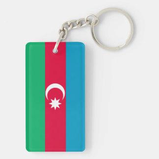 Azerbaijan Flag Key Ring