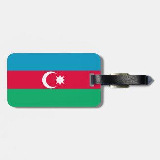 Azerbaijan Flag Luggage Tag