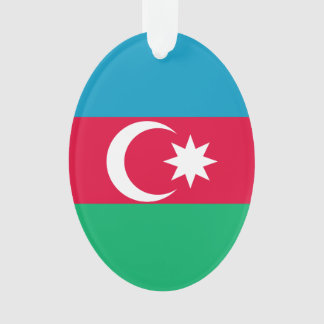 Azerbaijan Flag Ornament